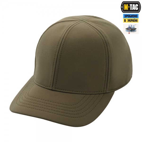 M-TAC БЕЙСБОЛКА SOFT SHELL COLD WEATHER OLIVE