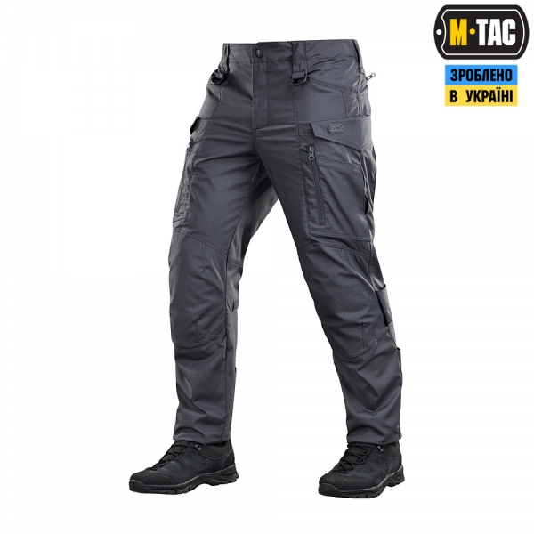 M-TAC БРЮКИ CONQUISTADOR GEN I FLEX DARK GREY 20059012