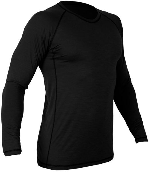 CHAMELEON ТЕРМОРУБАШКА MERINO ACTIVE WOOL BLACK 0747-04